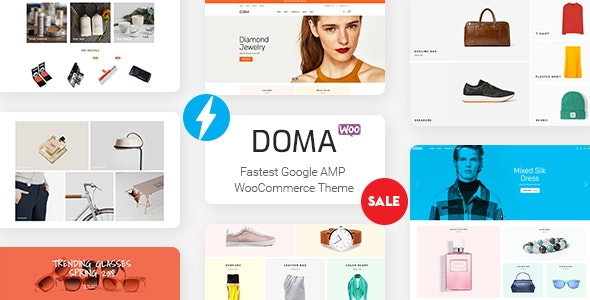Doma v2.0.0 - Google AMP Multi Vendor WooCommerce Theme
