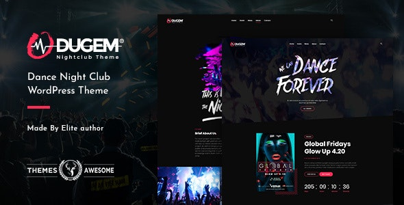 Dugem v1.2 - Dance Night Club WordPress Theme