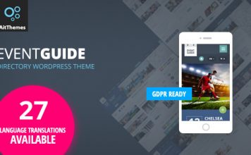 Event Guide v2.64 - Ultimate Directory Listing Theme