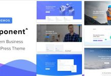 Exponent v1.2.5 - Modern Multi-Purpose Business Theme