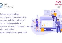 Fat Services Booking v2.14 - Automated Booking and Online Scheduling
