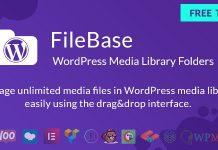 FileBase v1.2.3 - Ultimate Media Library Folders for WordPress