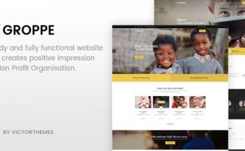 Groppe v2.5 - Nonprofit WordPress Theme