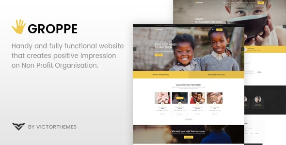 Groppe v2.5 - Nonprofit WordPress Theme