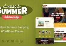 Hello Summer v1.0.4 - A Children's Camp WordPress Theme