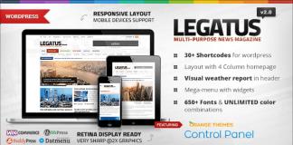 Legatus v2.3 - Responsive News/Magazine Theme