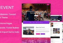 Lifevent v1.0.1 - Conference WordPress Theme