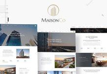 MaisonCo v1.4.0 - Single Property WordPress Theme