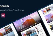 Neotech v1.1.5 - Magazine Elementor WordPress Theme