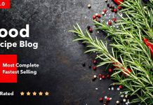 Neptune v6.3.3 - Theme for Food Recipe Bloggers & Chefs