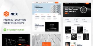 Nex v5.0 - Factory & Industrial WordPress