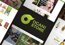 Ogani v1.2.6 - Organic Food Store Theme for WooCommerce