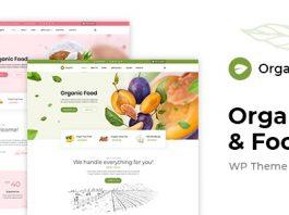 OrgaFit v1.0.1 - Organic and Health WordPress Theme