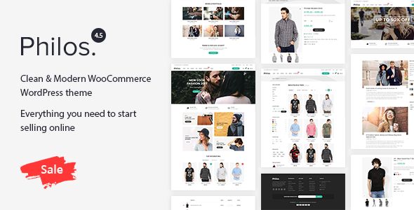 Philos v4.8 - Responsive WooCommerce WordPress Theme