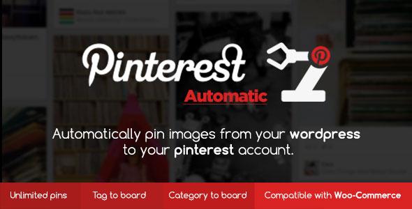 Pinterest Automatic Pin WordPress Plugin v4.14.0