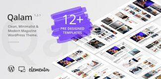 Qalam v1.2.2 - NewsPaper and Magazine WordPress Theme