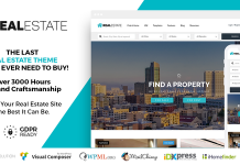 Real Estate 7 v2.9.3 - Real Estate WordPress Theme
