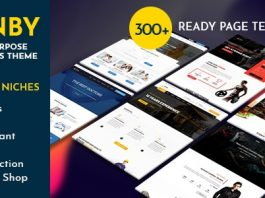 Ronby v1.7.1 - 6 Niche Business Multi-Purpose WordPress Theme