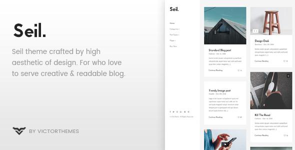 Seil v1.5 - A Responsive WordPress Blog Theme