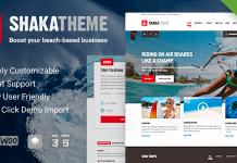 Shaka v1.13.0 - A beach business WordPress theme