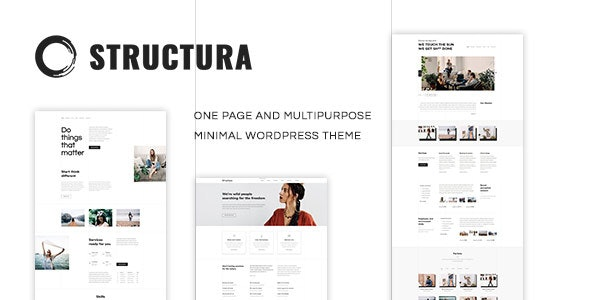 Structura v1.4.7 - Minimal One Page Theme