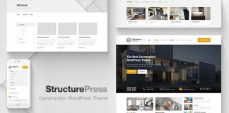 StructurePress v1.11.1 - Construction, Building WP Theme