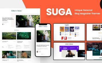 Suga v1.1 - Magazine and Blog WordPress Theme
