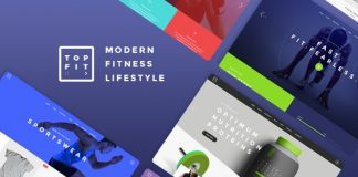TopFit v1.8 - Fitness and Gym Theme