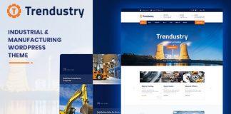 Trendustry v1.0.4 - Industrial & Manufacturing WordPress Theme