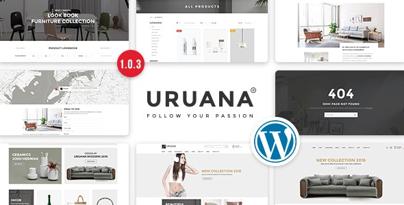 Uruana v1.0.3 - Multi Store Responsive WordPress Theme