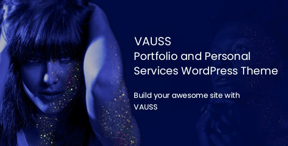 VAUSS v1.1 - Portfolio and Personal Services WordPress Theme
