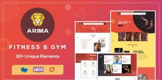 Arima v1.2 - Gym, Boxing WordPress Theme