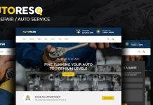Autoresq v2.1.6 - Car Repair WordPress Theme