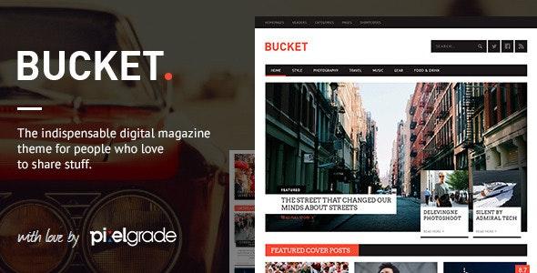 BUCKET v1.7.0 - A Digital Magazine Style WordPress Theme