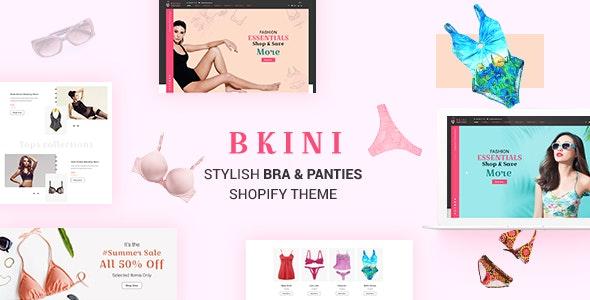 Bkini v1.0 - Bra, Panties & Bikini Store Shopify