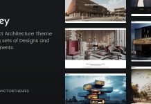 Brixey v1.7 - Responsive Architecture WordPress Theme