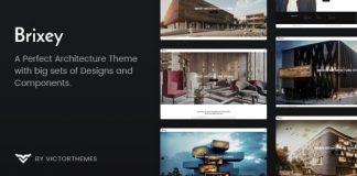 Brixey v1.7 - Responsive Architecture WordPress Theme
