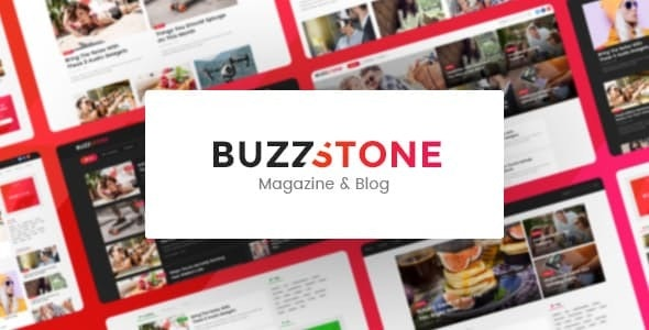 Buzz Stone v1.0.2 - Magazine & Viral Blog WordPress Theme