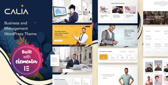 Calia v1.2.18 - Business and Management WordPress Theme