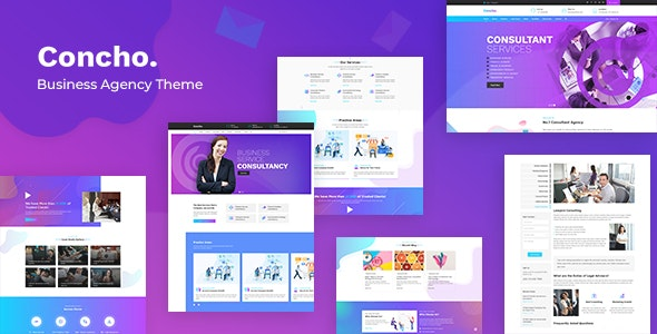 Concho v1.2 - HR, Consulting Services WordPress Theme