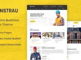 Constrau v1.1 - Construction Business WordPress Theme
