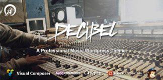 Decibel v3.0.3 - Professional Music WordPress Theme