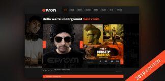 Epron v2.0.0 - Music Theme for WordPress