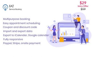 Fat Services Booking v2.15 - Automated Booking and Online Scheduling