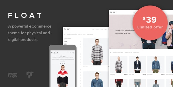 Float v1.8.3 - Minimalist eCommerce Theme