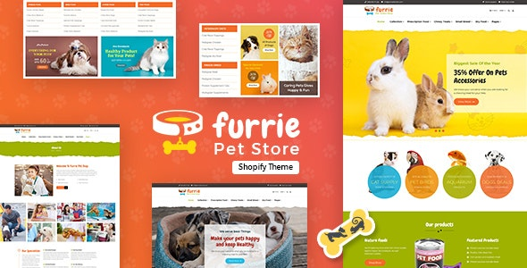 Furrie v1.0 - Shopify Pet Store, Dog Care