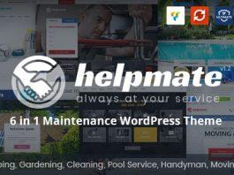 Helpmate v1.1.3 - 6 in 1 Maintenance WordPress Theme