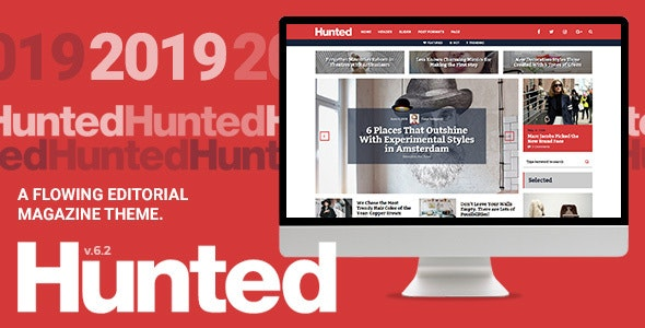 Hunted v7.0 - A Flowing Editorial Magazine Theme