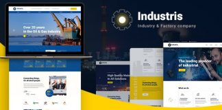 Industris v1.0.3 - Factory & Business WordPress Theme