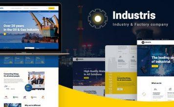 Industris v1.0.3 - Factory & Business WordPress Theme